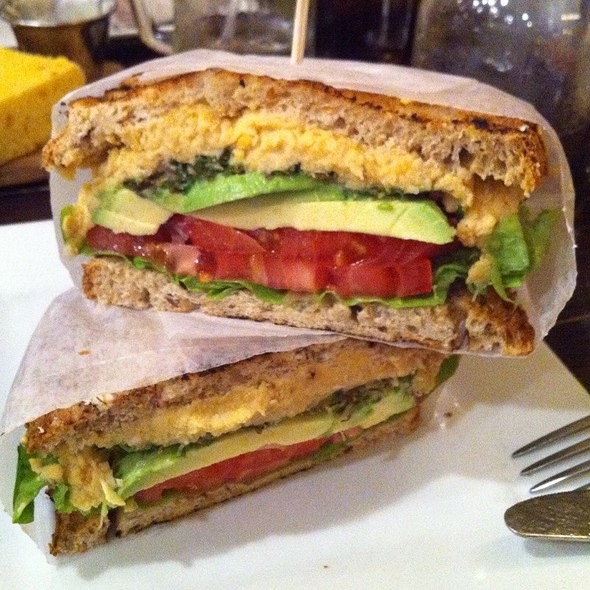 Avocado And Hummus Sandwich @ Whisk Gourmet Foods & Catering