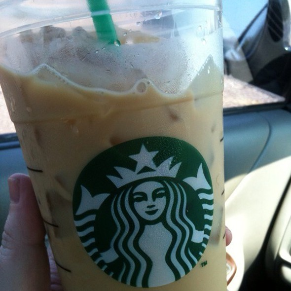 Hazelnut Iced Coffee @ Starbucks
