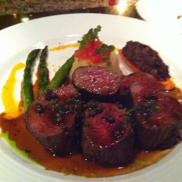 Beef tenderloin - The Refectory Restaurant & Bistro, Columbus, OH