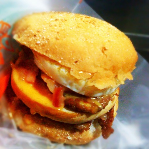 Ultimate Double Burger @ Burger Machine