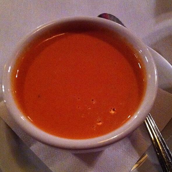 Tomato Gorgonzola Soup  - Monkey Cat, Auburn, CA