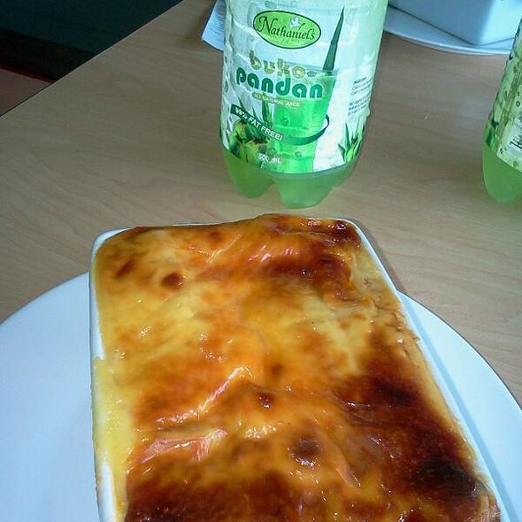 lasagna @ Nathaniel's