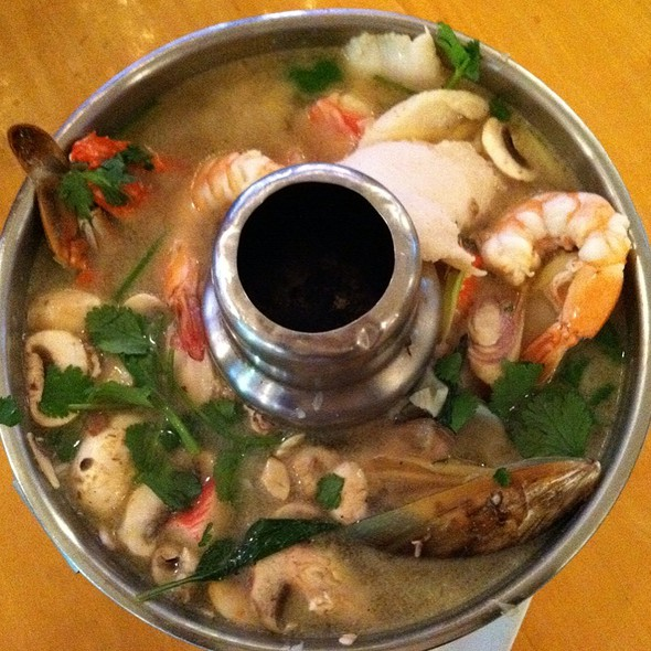 Thai Soup With Seafood At Thai Patio Hollywood