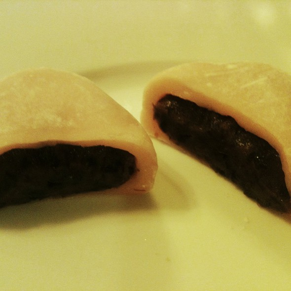"Red Bean Mochi Folks, Red Bean Mochi! @ At ""Joan's World"" ;-)"
