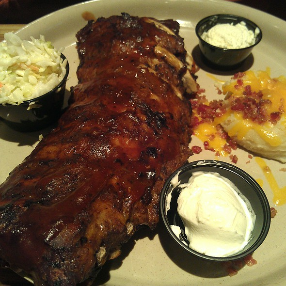 Full Rack Of Ribs @ Miller's Ale House-Philadephia