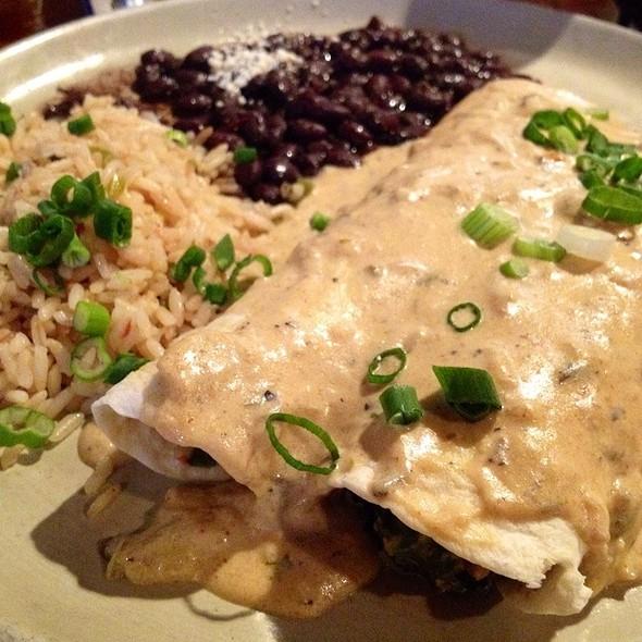 Spinach and Mushroom Enchiladas - Mi Casa Mexican Restaurant, Breckenridge, CO