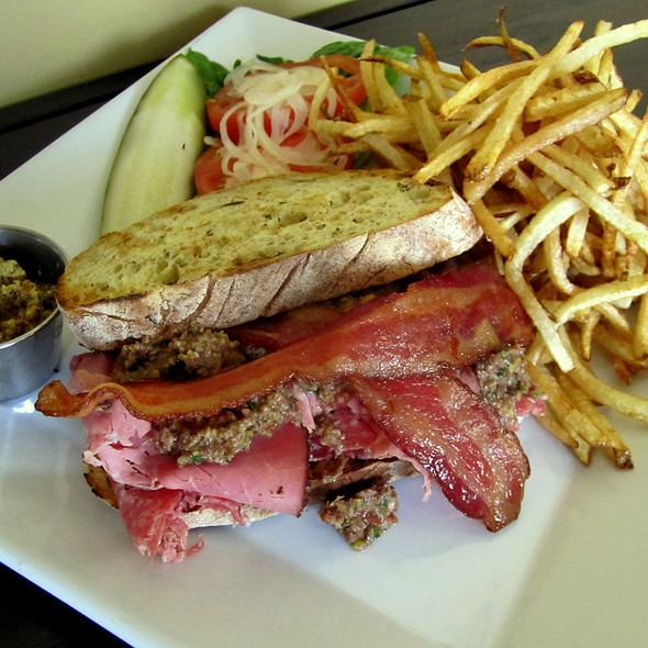 Muffuletta Sandwich @ Solstice Kitchen & Wine Bar