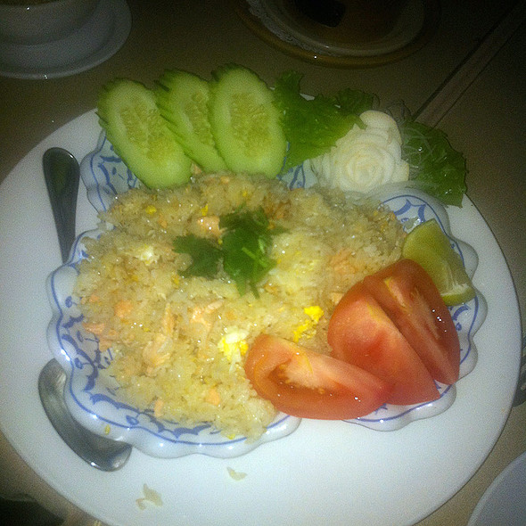 Salmon Fried Rice @ Amarin Thai Restaurant