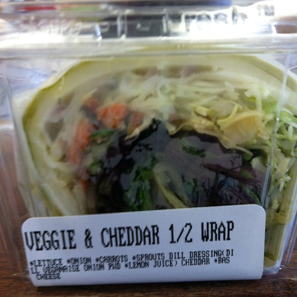 Veggie & Cheddar Wrap @ Foodworks II
