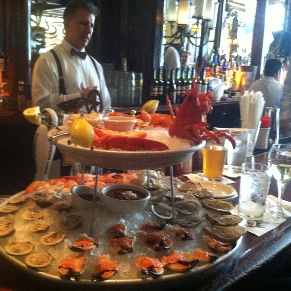 Seafood Tower @ Old Ebbitt Grill