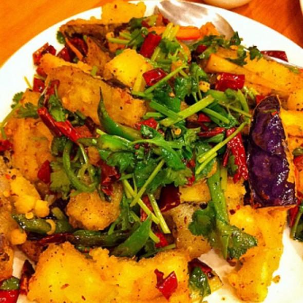 Fried Eggplant @ Lao Hunan