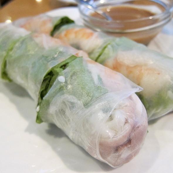Spring Rolls @ Pho Garden Vietnamese Restaurant