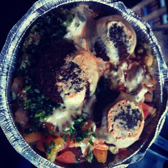 Falafel Salad Platter @ Heights Falafel