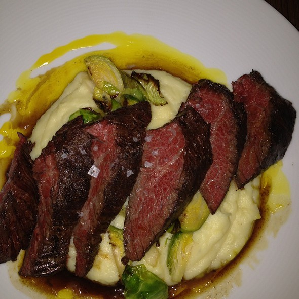 Hanger Steak - Cobalt Restaurant and Lounge - Vero Beach Hotel and Spa, Vero Beach, FL