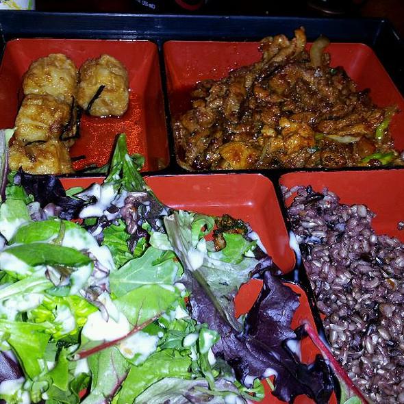 Spicy Pork Bulgogi Lunch Box @ Sammy Chon's KTown BBQ