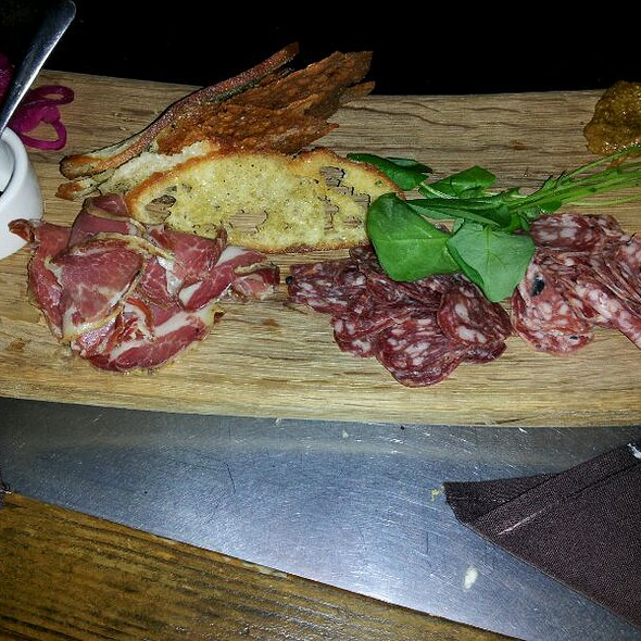 Aged Salami Plate @ Solace and Moonlight Lounge