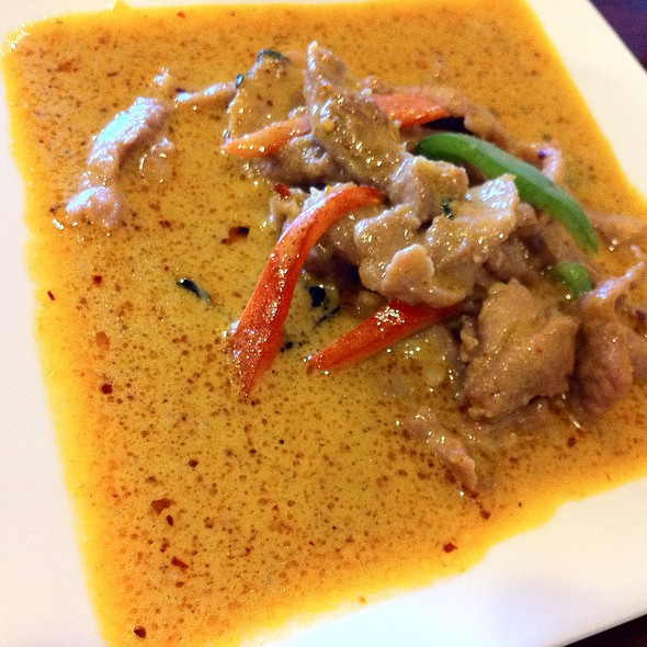 Panang Curry Pork @ Thai Spoon