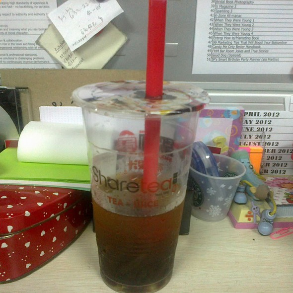 Wintermelon Sweet Tea @ Sharetea