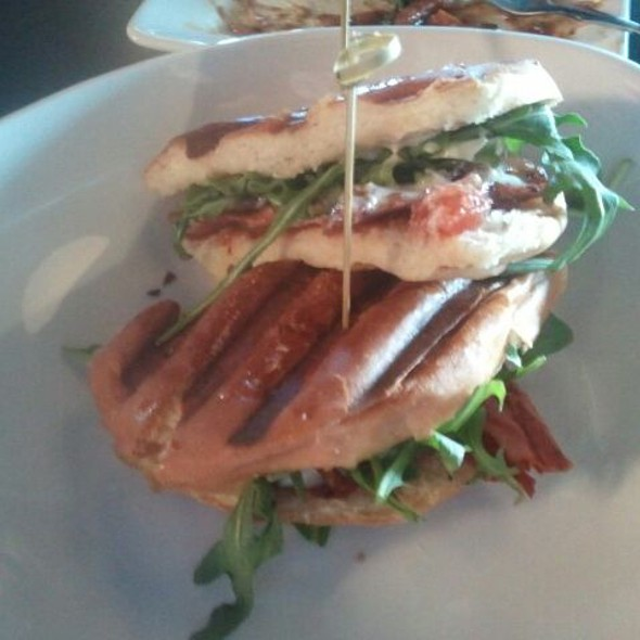 House Cured Bacon Lettuce Tomato @ Bar 145