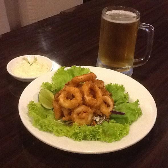 Calamari With Tartar Dip @ Amigos Restaurant