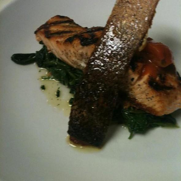 Grilled Salmon @ Bocca Di Bacco