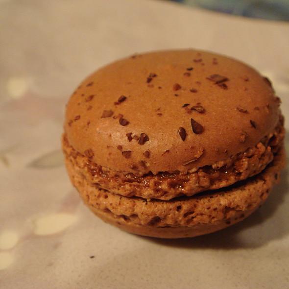 Chocolate Macaron @ SugarBox Dessert & Wine Bar