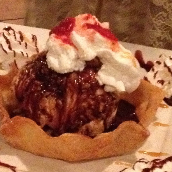 Deep Fried Icecream @ Plaza Azteca Mexican Restaurant