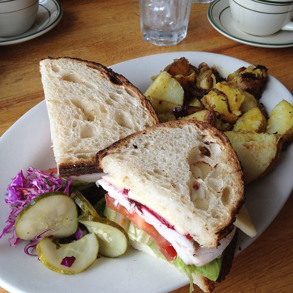 Orb Weaver Cheese Sandwich With Turkey @ Penny Cluse Cafe