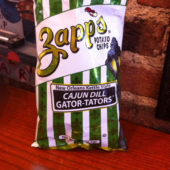 Zapp's Cajun Dill. Gator-Tators