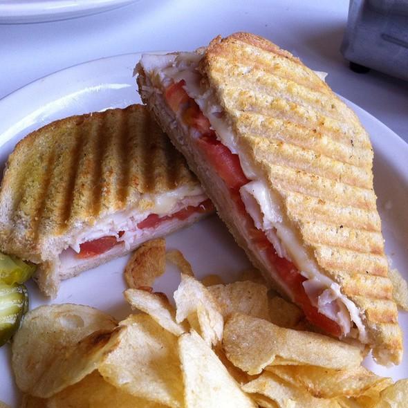 Grilled Turkey Panini Sandwich @ Sanders Birmingham