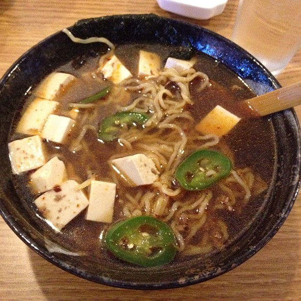 Mapo Tofu Ramen @ Hokkaido Noodle House