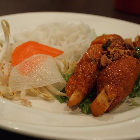 Chao Tom (Shrimp paste on Sugar Cane) @ Kim Bo Restaurant