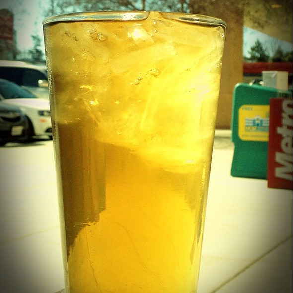 Lichee Iced Tea @ Barefoot Coffee Roasters