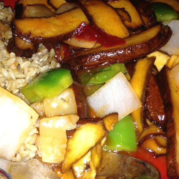 Seet And Sour Tofu @ Pei Wei Asian Diner