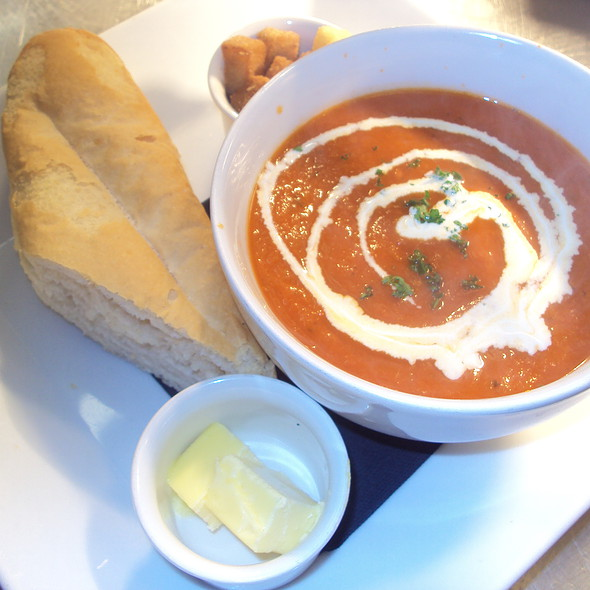 Roast Tomato Soup @ St. Mary's Country Inn,