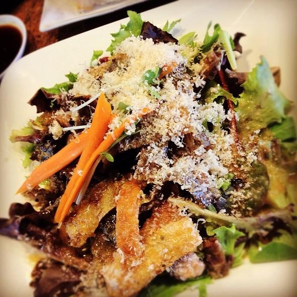 Crispy Salmon Skin Salad @ Sushi Studio