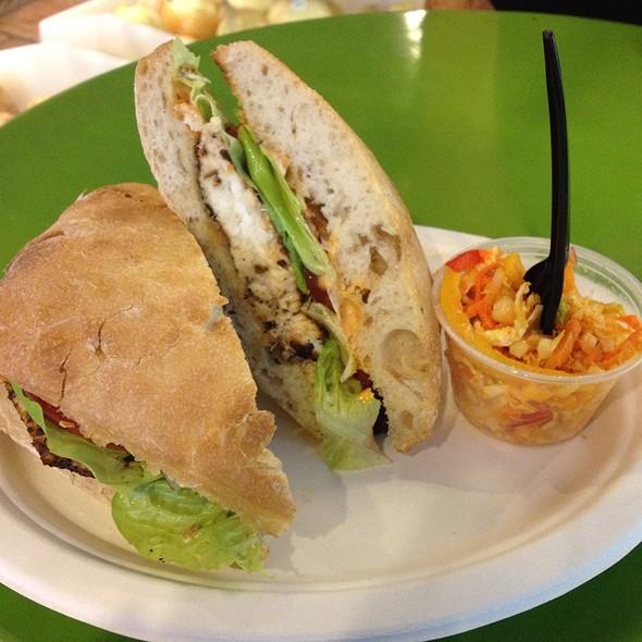 Blackened Tilapia Sandwich @ Dirk's Fish & Gourmet Shop