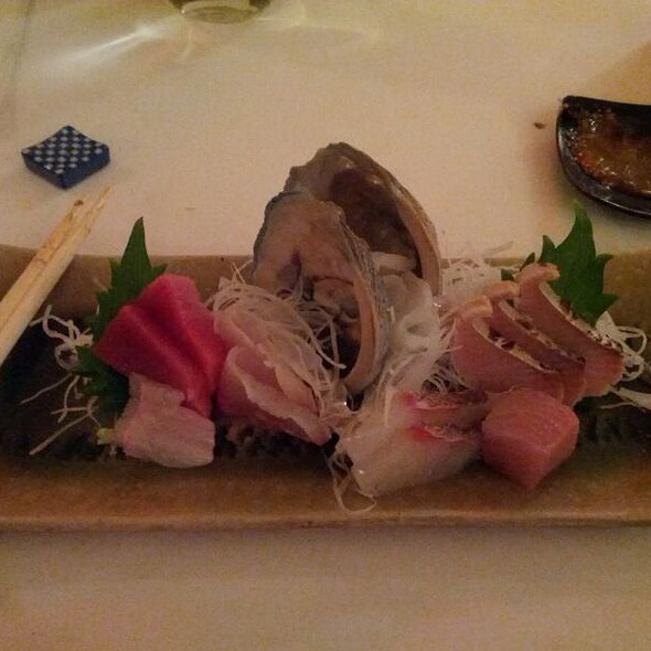 assorted sashimi @ Kiss Seafood Japanese Restaurant