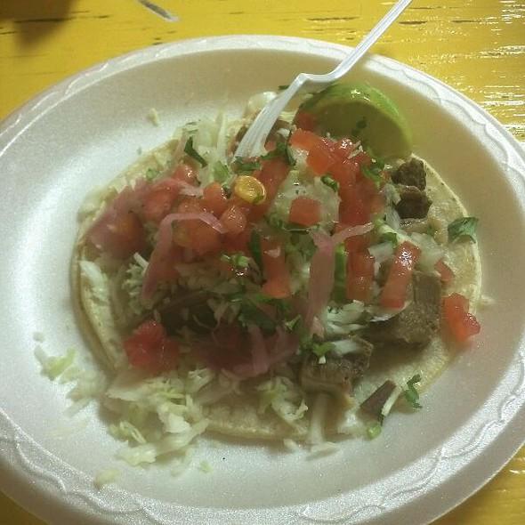 Lengua Taco @ Taco Bus