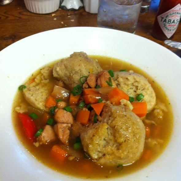 matzah ball soup @ Lüke