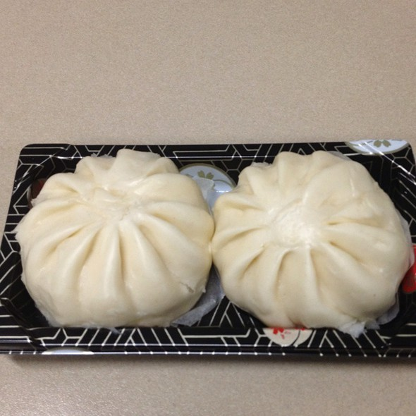 BBQ Pork Bun (char siu bao) @ Whole Foods Market