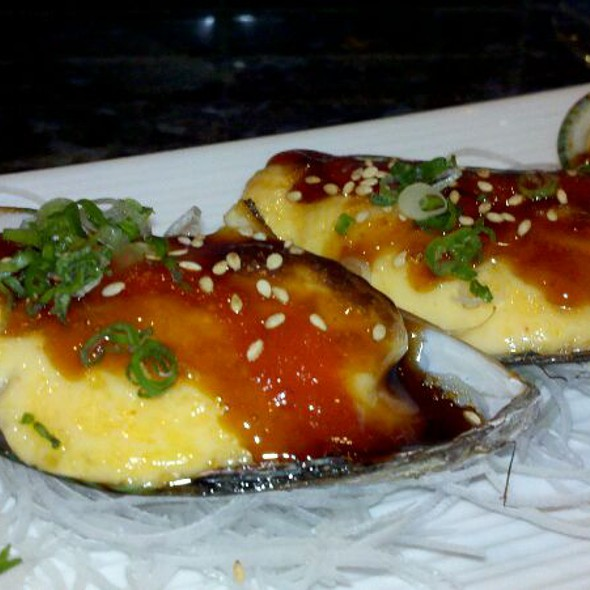 Baked Green Mussels @ Rice Bistro & Sushi
