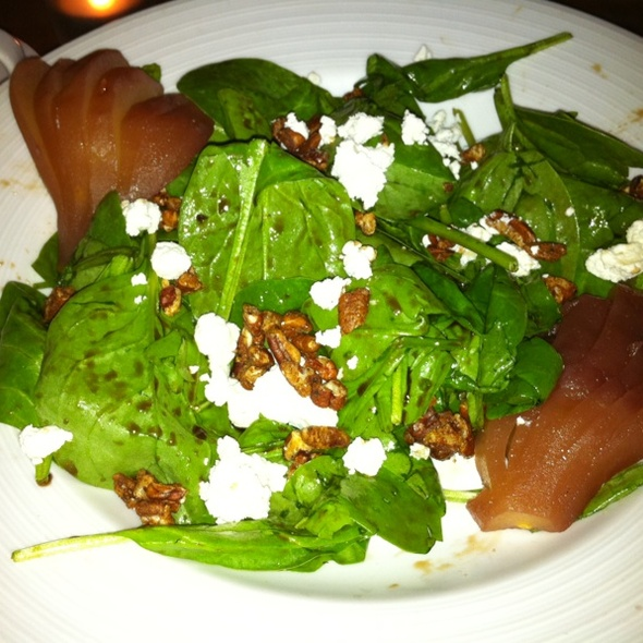 Port Poached Pear Salad