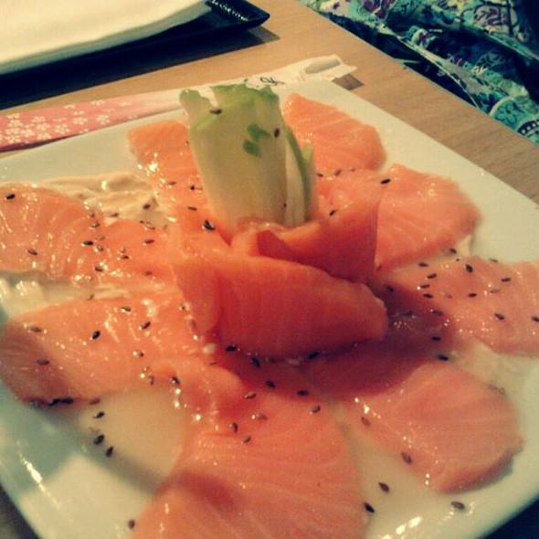 Carpaccio Salmon @ Kokai Sushi
