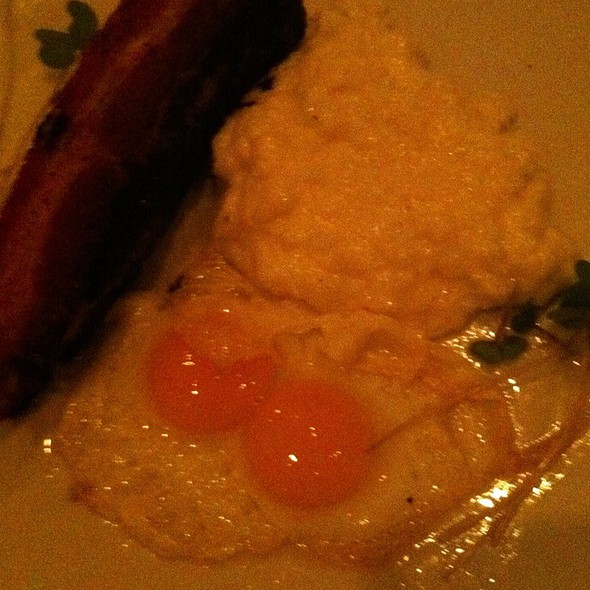 Bacon and eggs - The Farmhouse at Turkey Hill, Bloomsburg, PA
