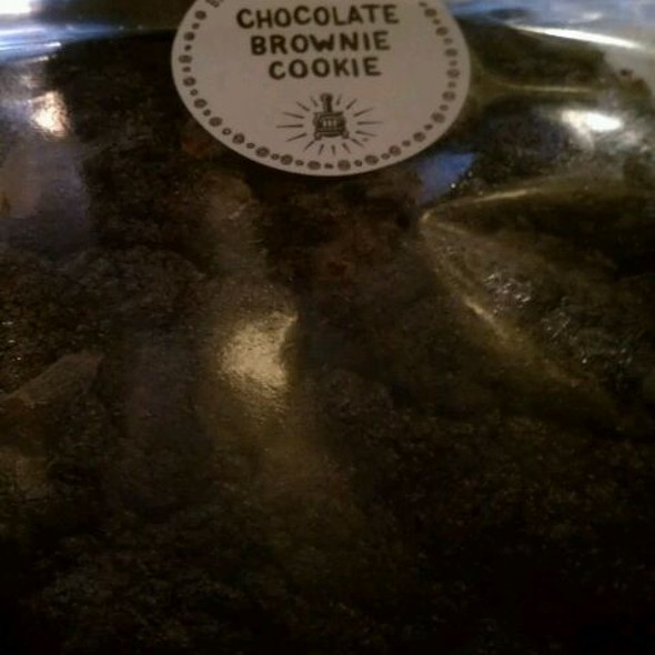 Chocolate Brownie Cookie @ Potbelly Sandwich Shop - Bethesda