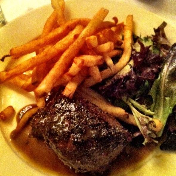 Steak Au Poivre @ Brasserie Les Halles