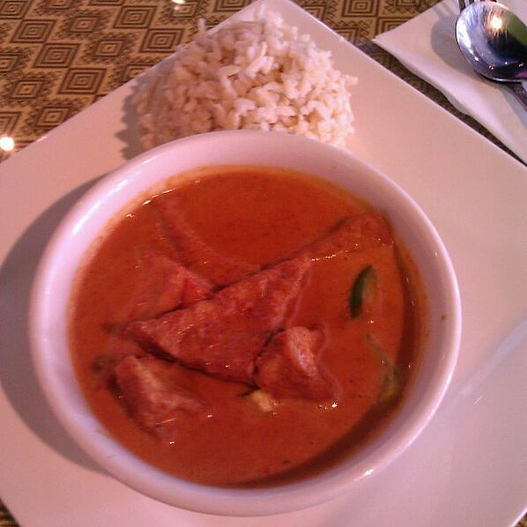 panang curry @ Thai Cuisine