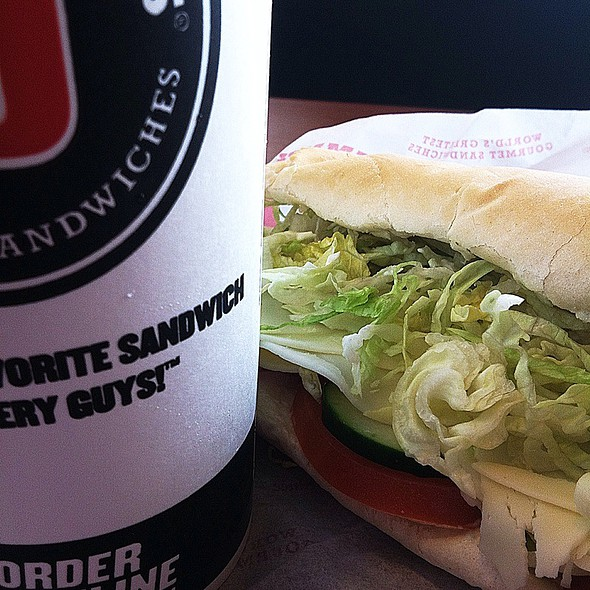 No. 6 Vegetarian @ Jimmy John's