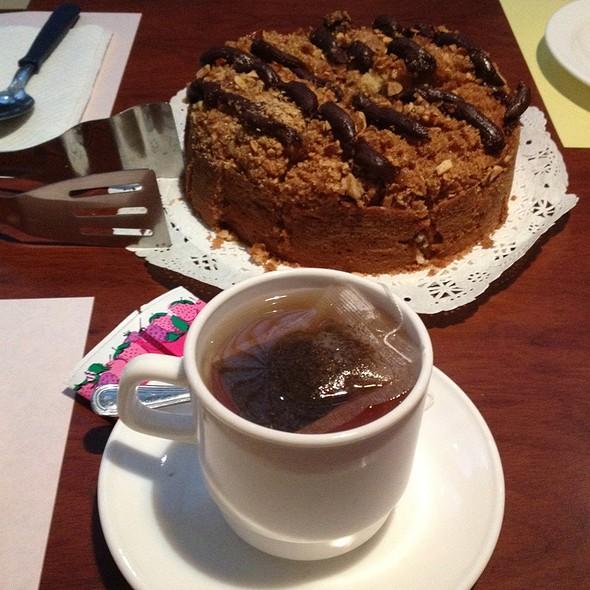 Té y Coffee Cake de Banana y Nutella @ Franca Coffeecakes